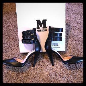 Missoni strappy heels